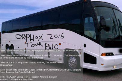 Orphax 2016 Tour